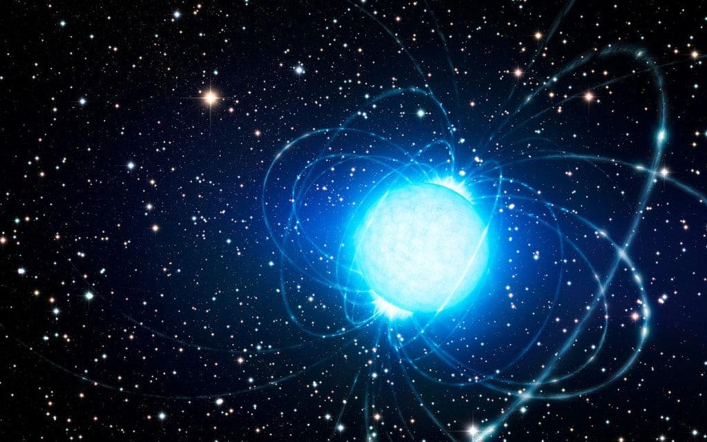 Una estrella muerta emite radiación nunca vista antes