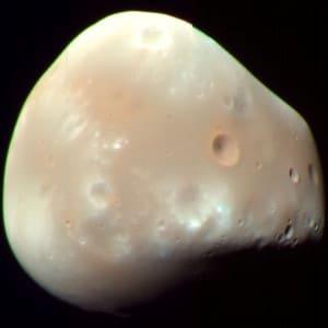 Deimos. Crédito: NASA/JPL-caltech/University of Arizona