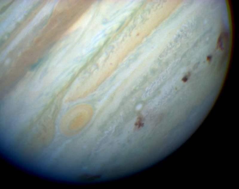 El planeta Júpiter no es el escudo del Sistema Solar
