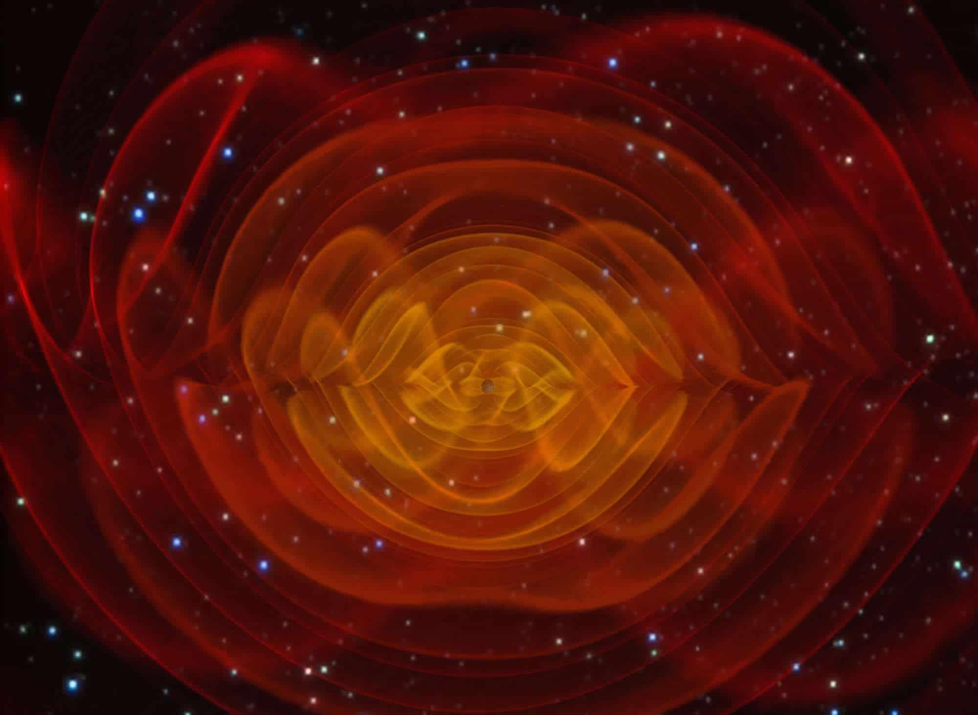 Los secretos de las ondas gravitacionales