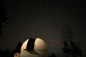 El observatorio de Mount Lemmon es uno de los tres telescopios utilizado en el Catalina Sky Survey. Crédito: Catalina Sky Survey, University of Arizona.