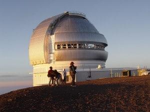 El observatorio Gemini North. Crédito: Mailseth/Wikimedia Commons