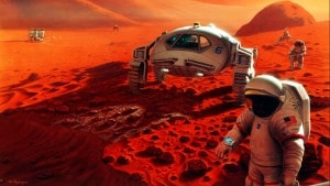 La NASA espera enviar humanos a Marte en la década de 2030. Crédito: NASA