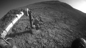 El rover Opportunity, en enero de 2016.  Crédito: NASA/JPL-CALTECH