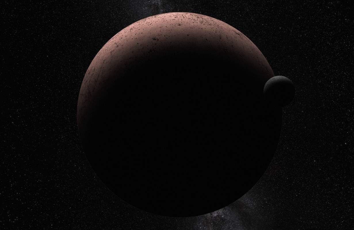 El telescopio Hubble detecta un satélite alrededor de Makemake