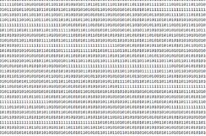 Una pequeña parte del código binario del mensaje. Crédito: René Heller