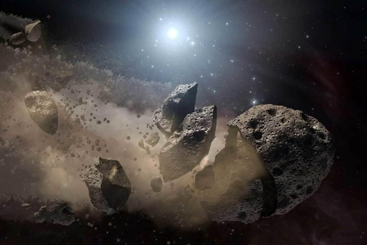 El peligro de los asteroides