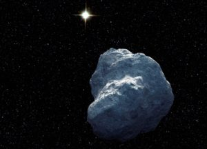 Concepto artístico de un objeto transneptuniano. Crédito: NASA, ESA, y G. Bacon (STScI).