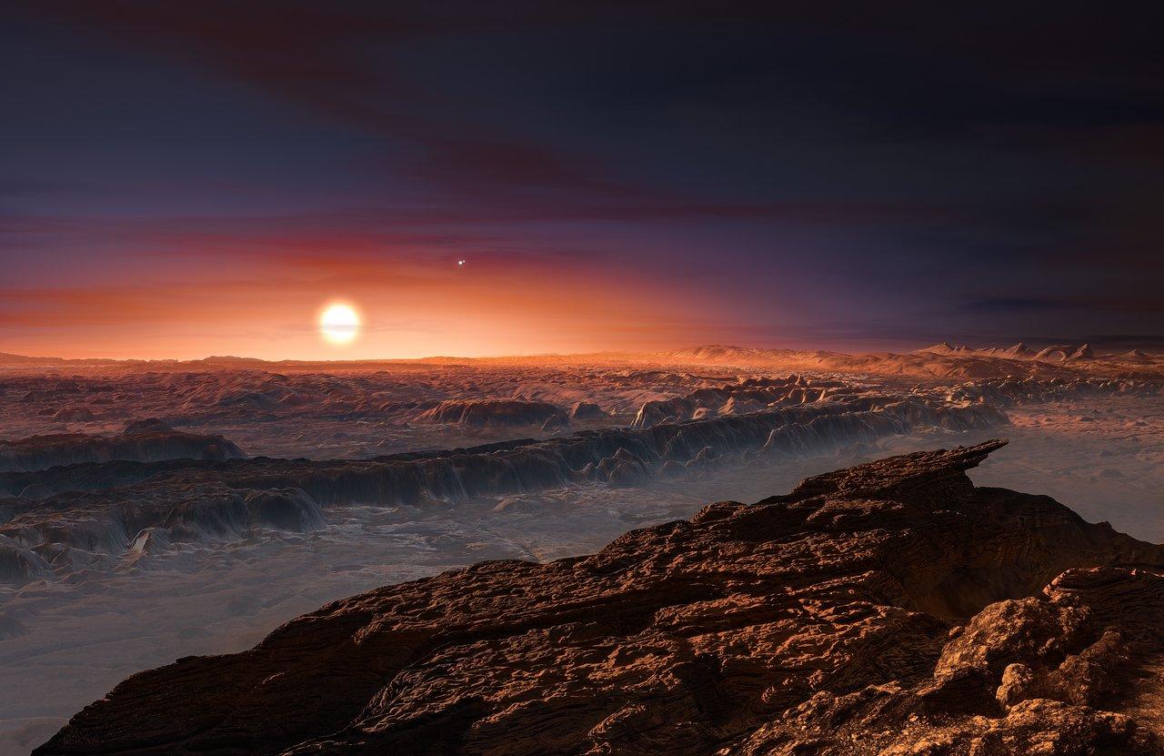 Próxima b, el exoplaneta más cercano al Sistema Solar