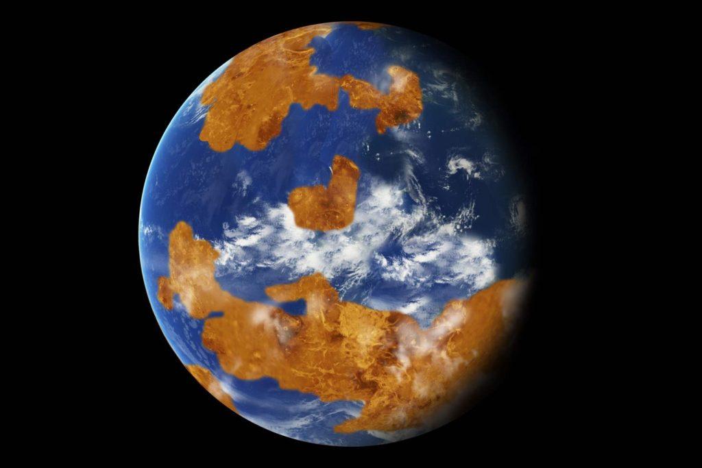 Júpiter pudo provocar el efecto invernadero de Venus