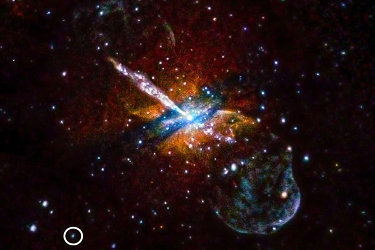 Objetos celestes que se iluminan y apagan en sólo una hora