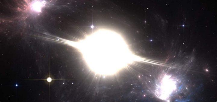 Concepto artístico de la explosión de una supernova. Crédito: Shutterstock/Jurik Peter