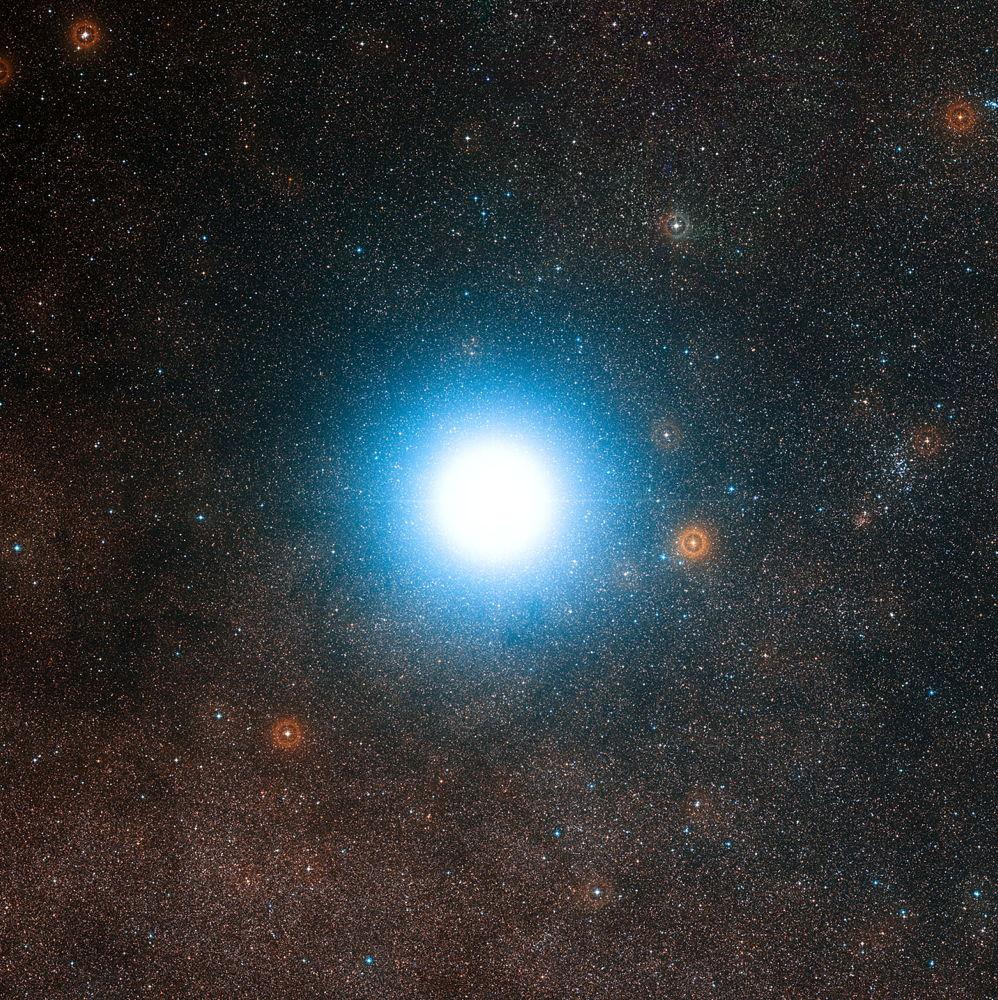 Resultado de imagen para alfa centauri alfa estrella azul
