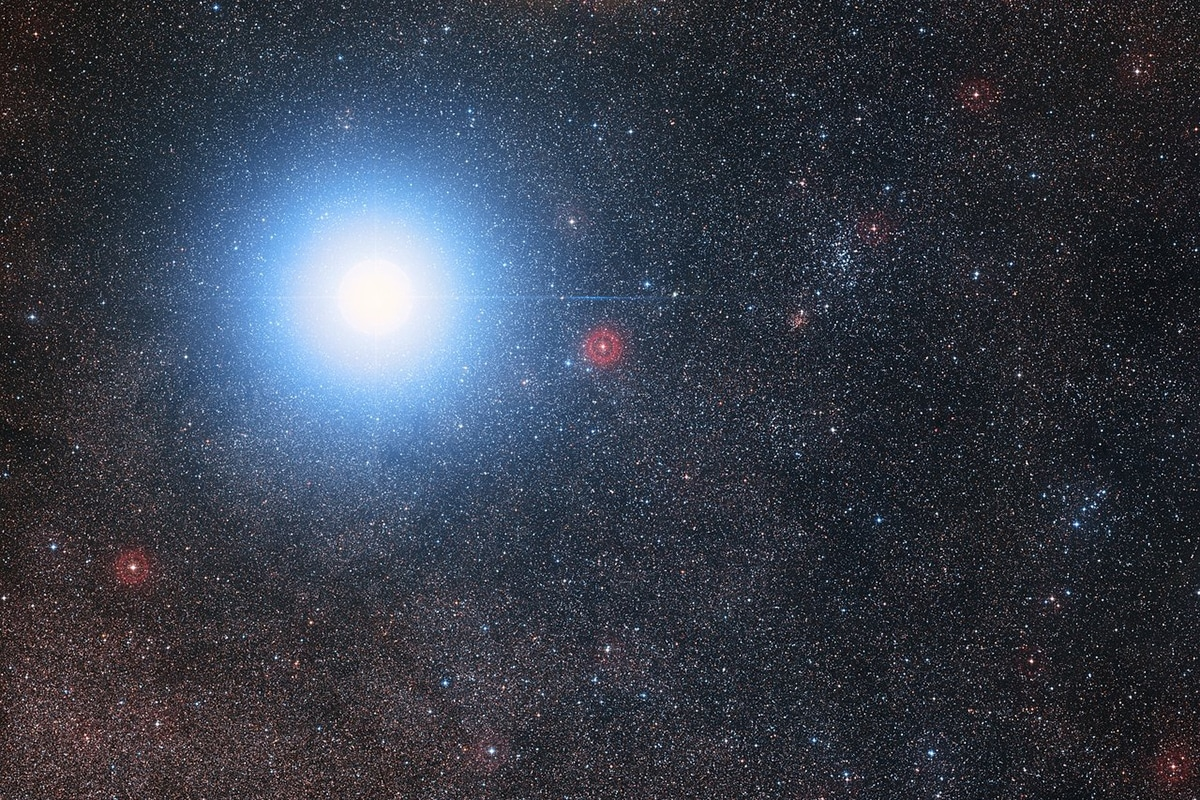 Proxima Centauri orbita alrededor de Alfa Centauri