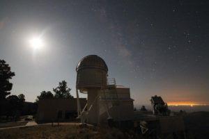 El Experimento de Evolución Galáctico del Observatorio de Apache Point (APOGEE, por sus siglas en inglés), que recoge información espectrográfica de estrellas distantes. Crédito: astronomy.as.virginia.edu