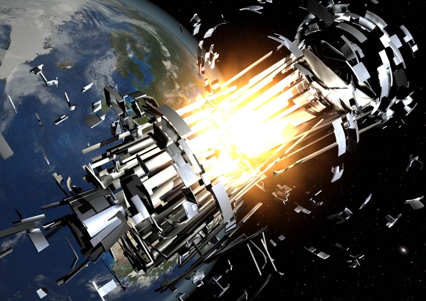 El estado de la basura espacial en 2020
