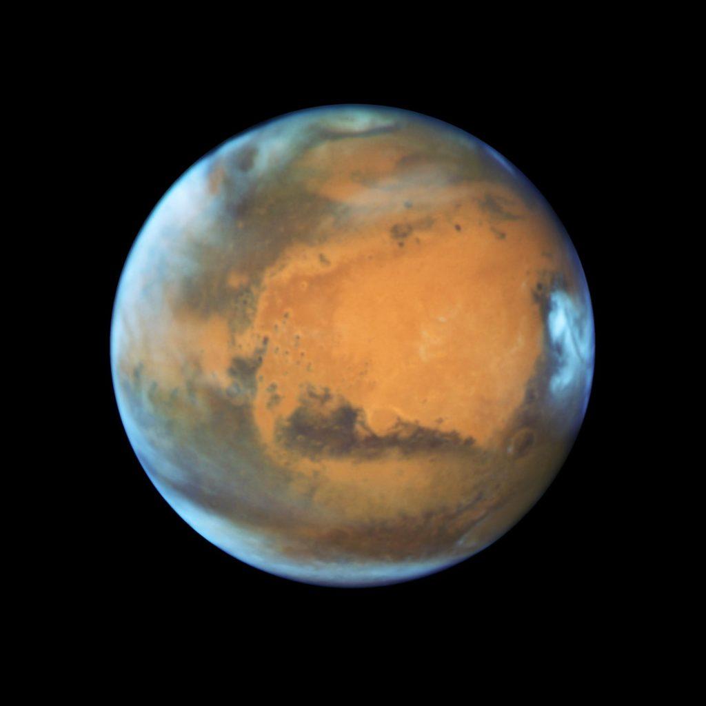 Las bacterias podrían viajar entre la Tierra y Marte