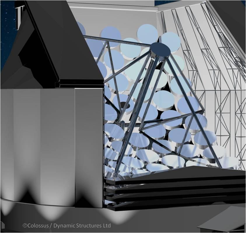 Coloso, un telescopio que podrá buscar civilizaciones extraterrestres
