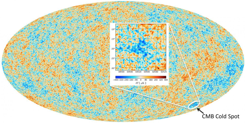 ▷ La radiación de fondo de microondas y la misteriosa Gran Mancha Fría —  Astrobitácora
