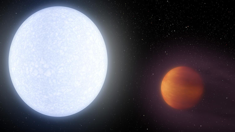 KELT-9b: un planeta más cálido que muchas estrellas