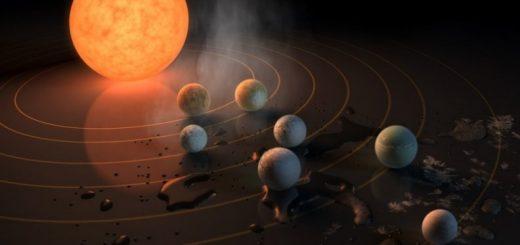 Formación de TRAPPIST-1