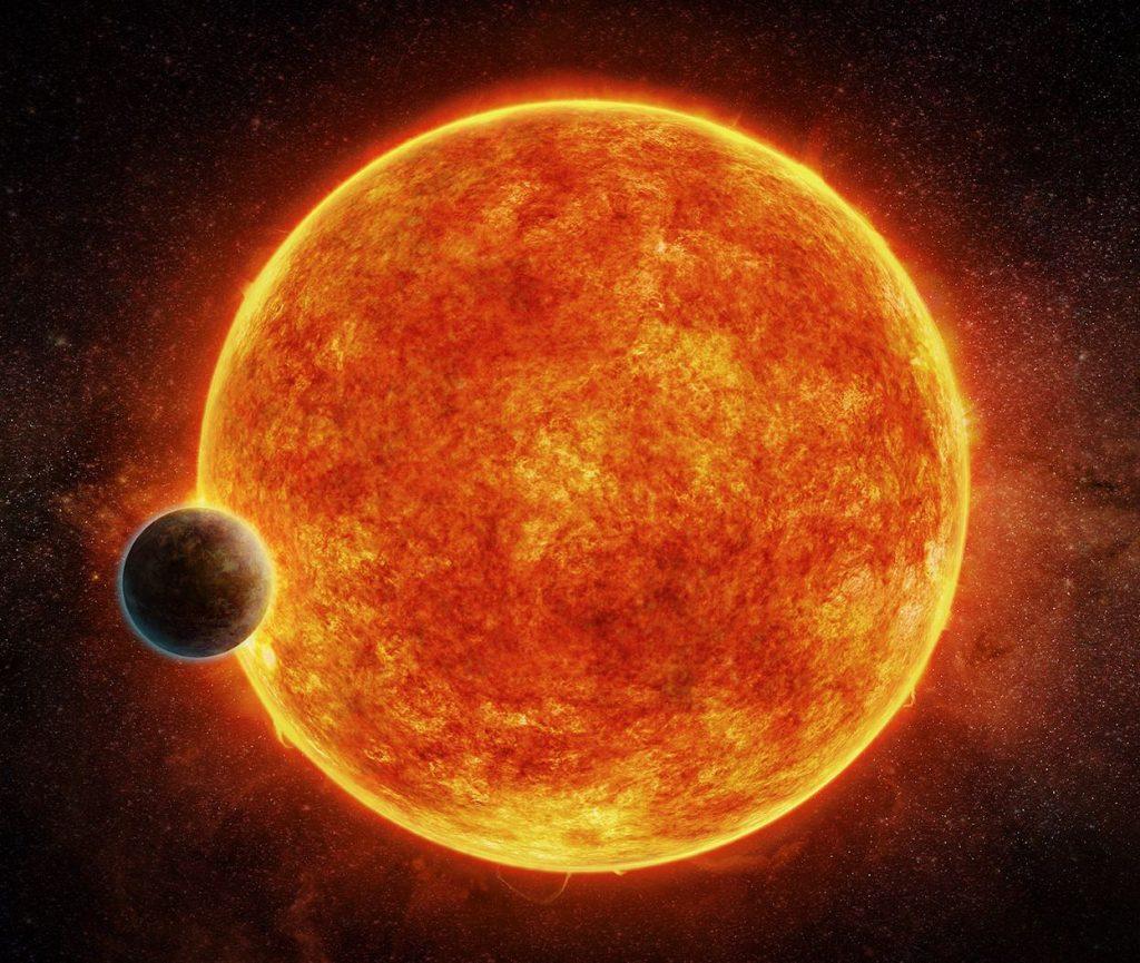 K2-18b, un extraño exoplaneta con lluvia y nubes...