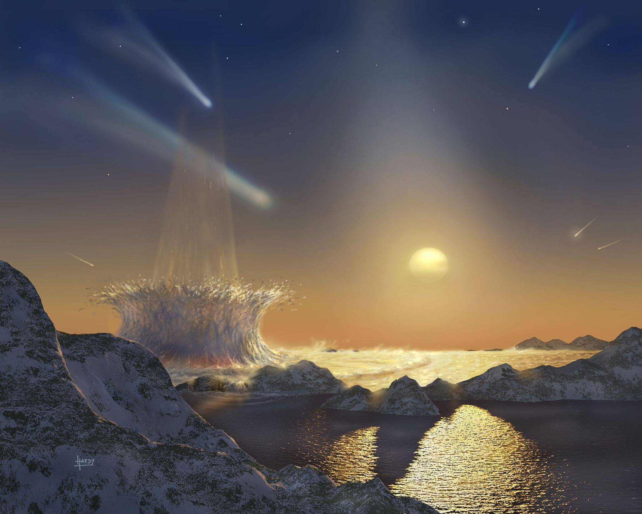 Tau Ceti: detectados cuatro planetas terrestres