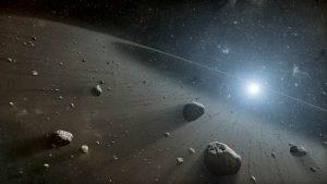 ¿Cuál es el origen del cinturón de asteroides?