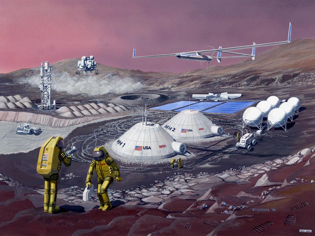 Detallan todos los desafíos para llegar a Marte