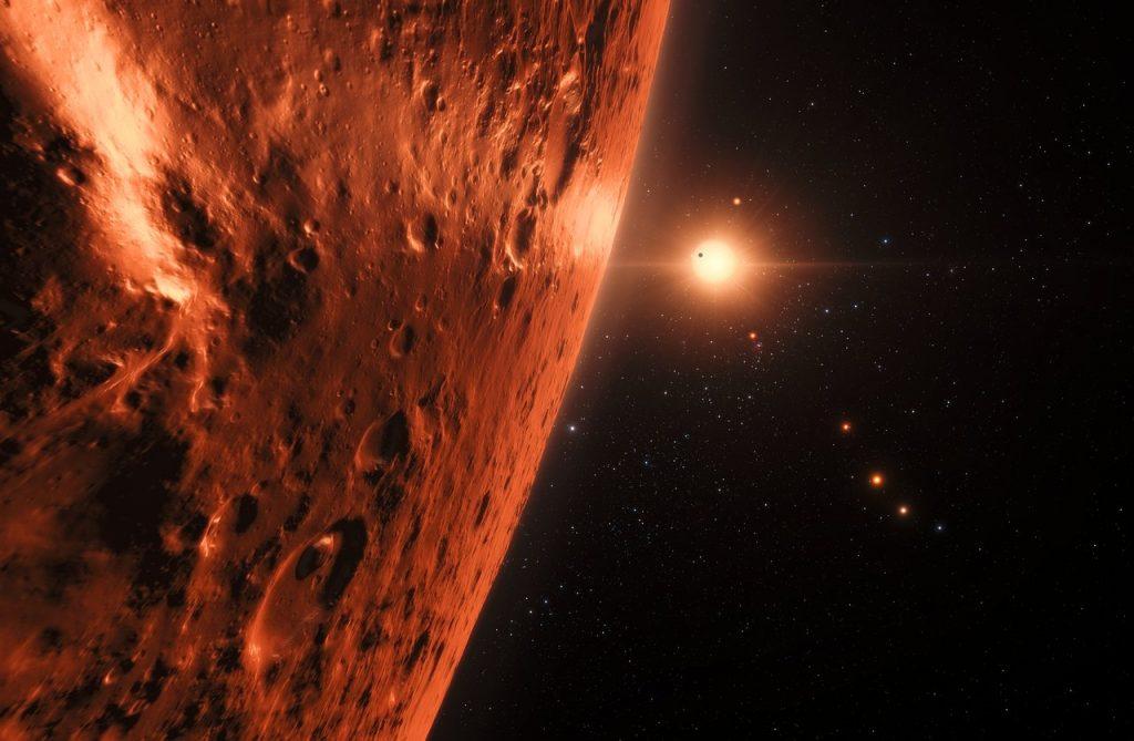 La presencia de señales de vida en Venus también es positivo para la vida más allá del Sistema Solar.