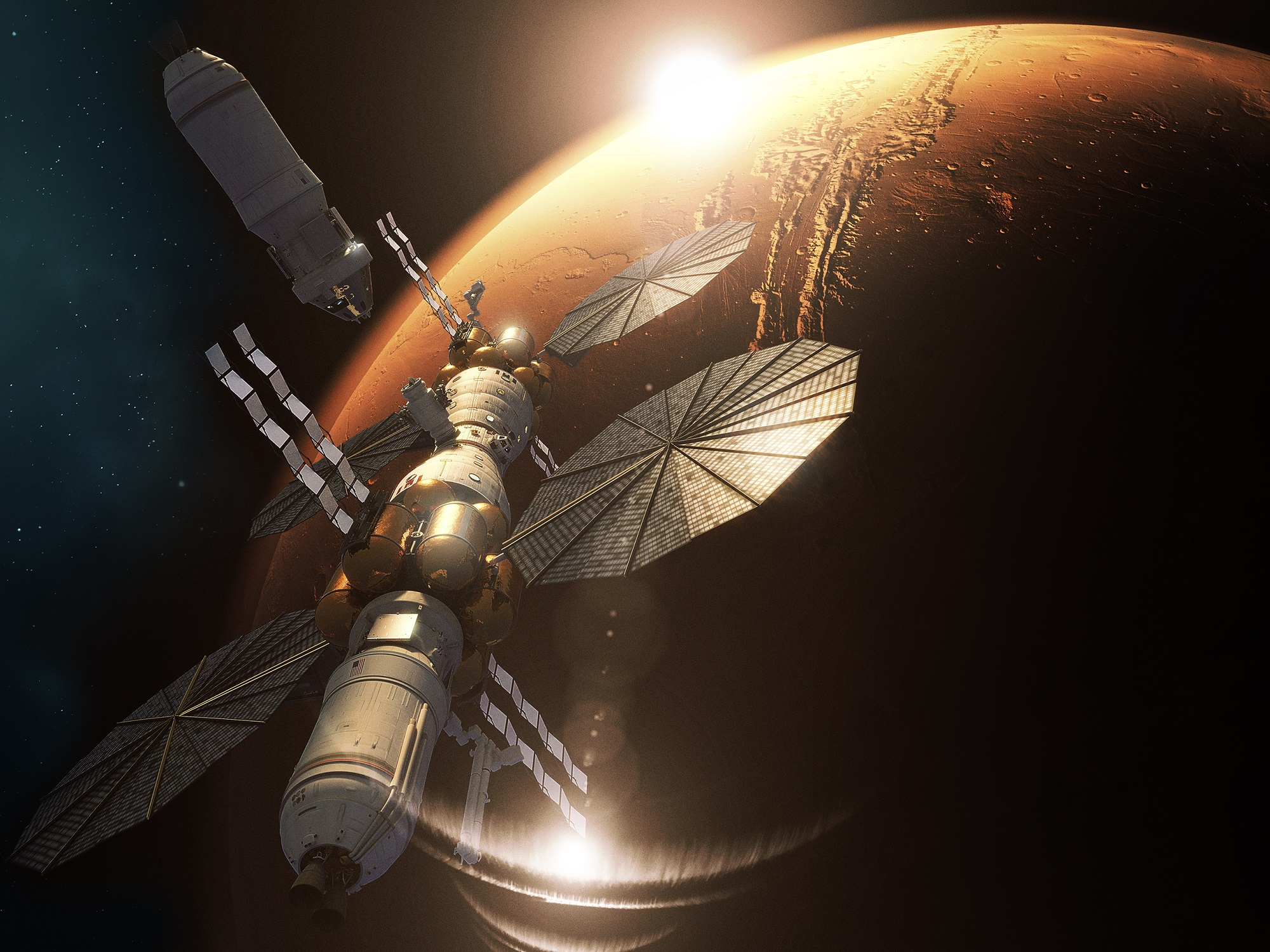 La Mars Base Camp de Lockheed Martin sigue adelante