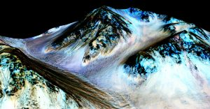 Marte tiene corrientes de arena