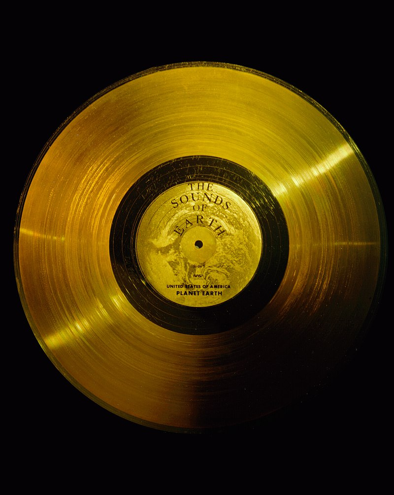 El futuro de los discos de oro de las sondas Voyager