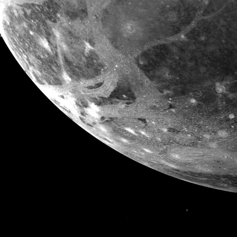 La sonda Juno observará Ganímedes muy de cerca