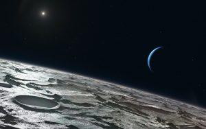 La llegada de Tritón pudo sacudir el sistema de Neptuno
