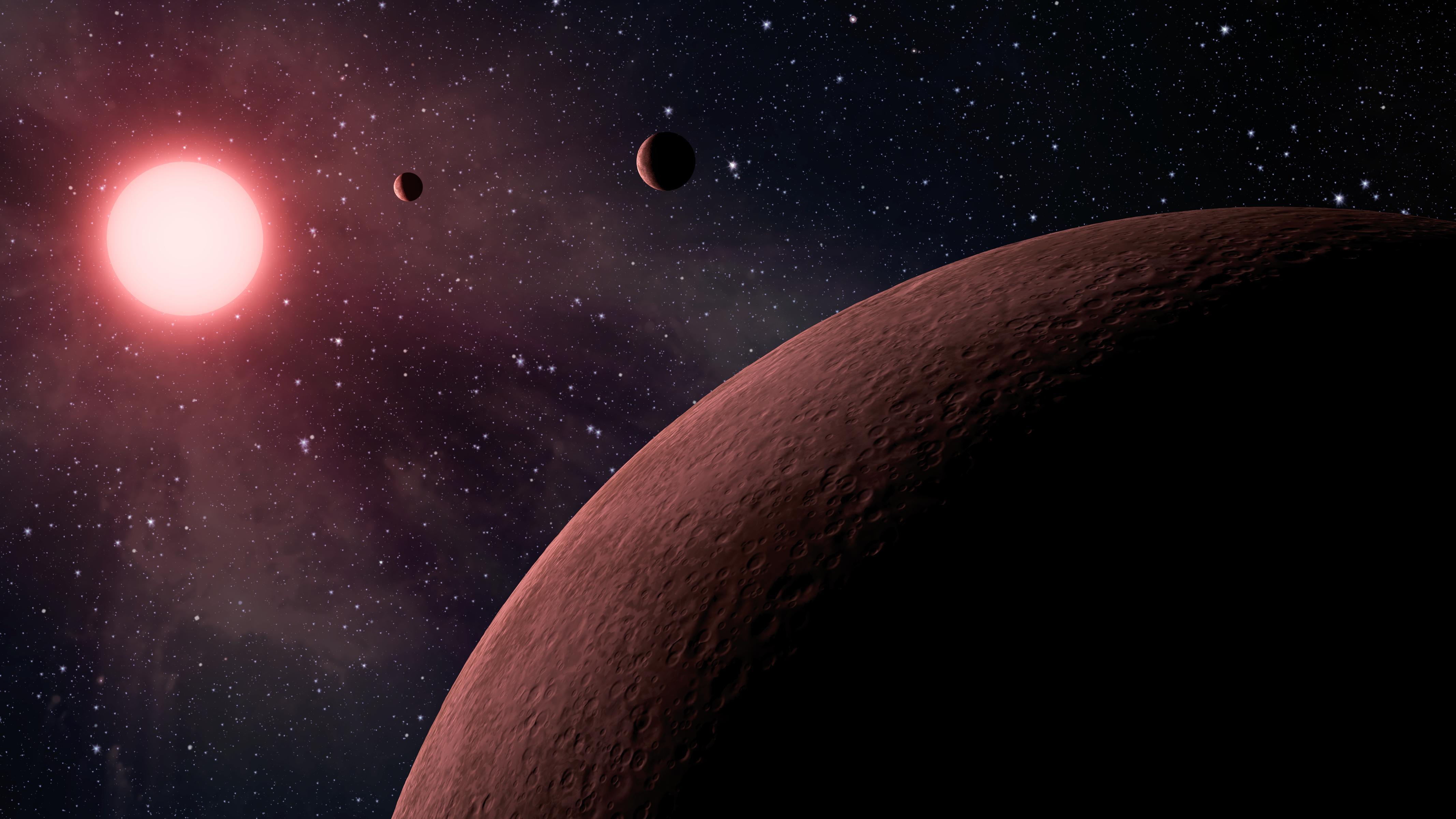 Las dificultades de la zona habitable de enanas rojas