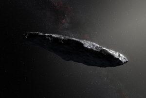 Oumuamua podría ser una vela solar extraterrestre
