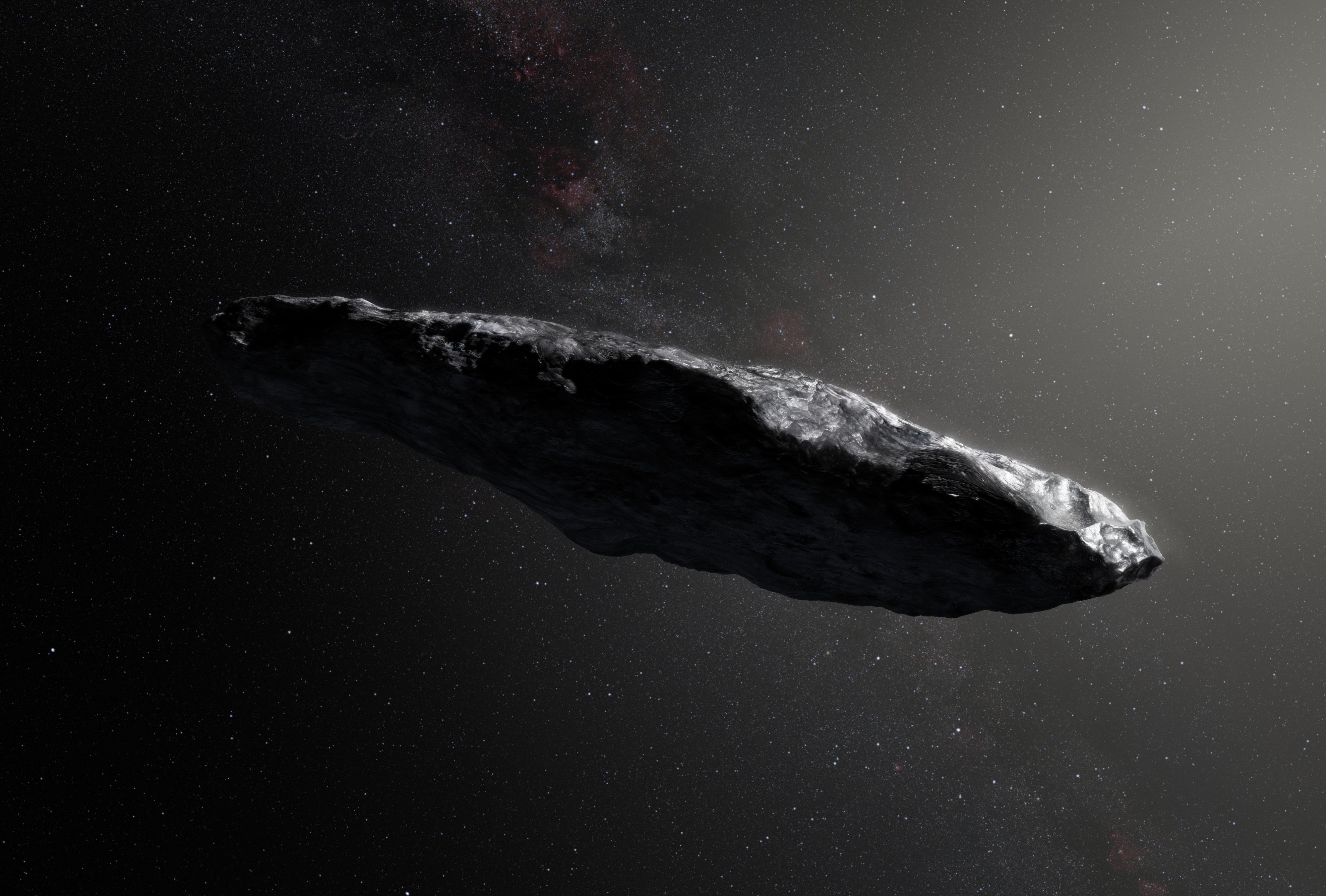 Oumuamua podría ser polvo de cometa