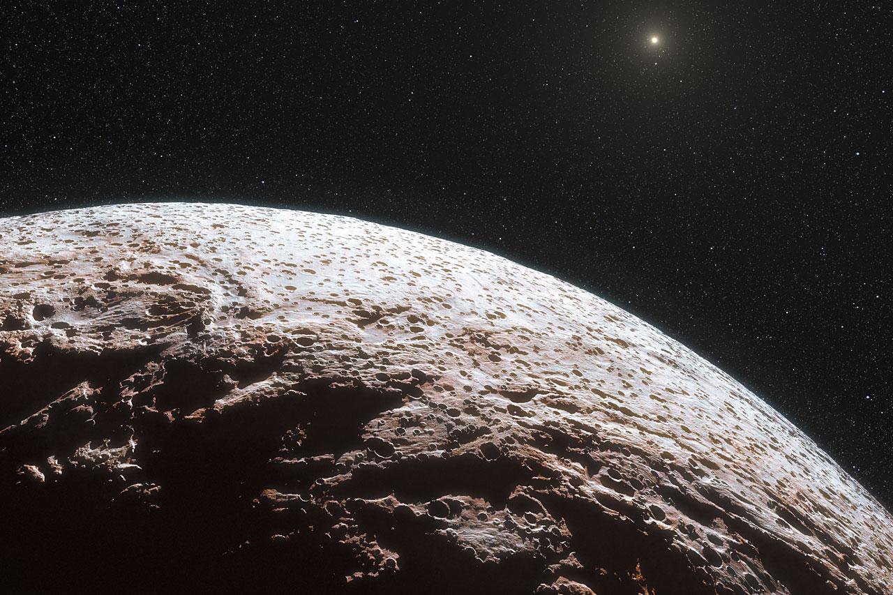 El Cinturón de Kuiper, el hogar de Plutón