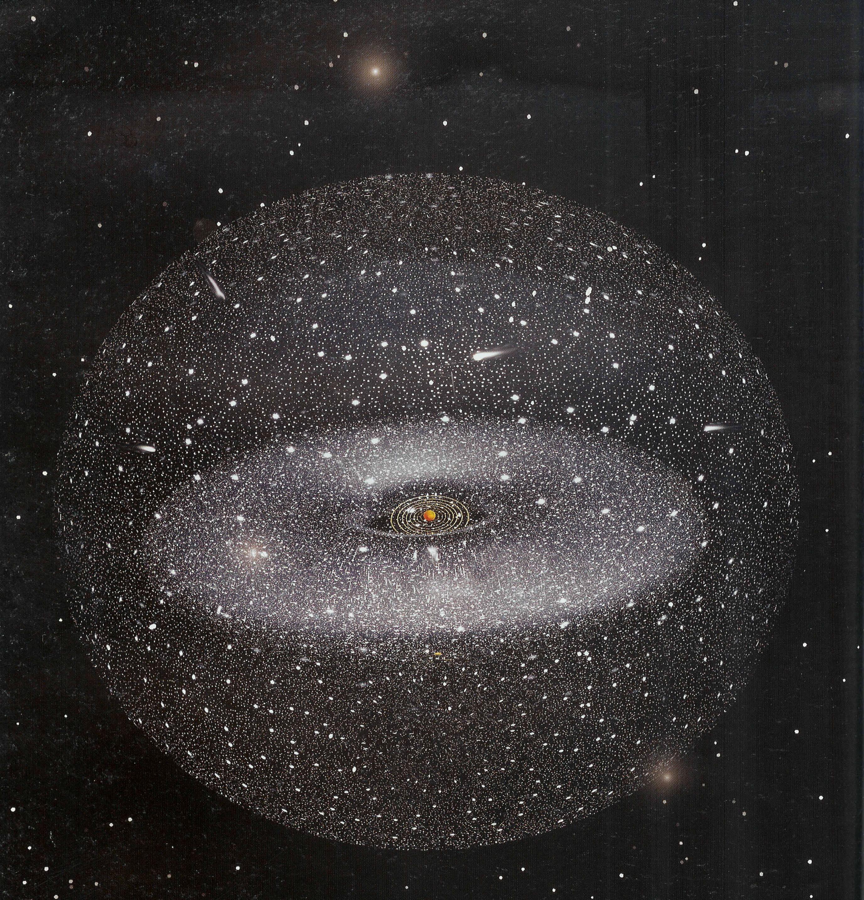 La Nube de Oort, los confines del Sistema Solar