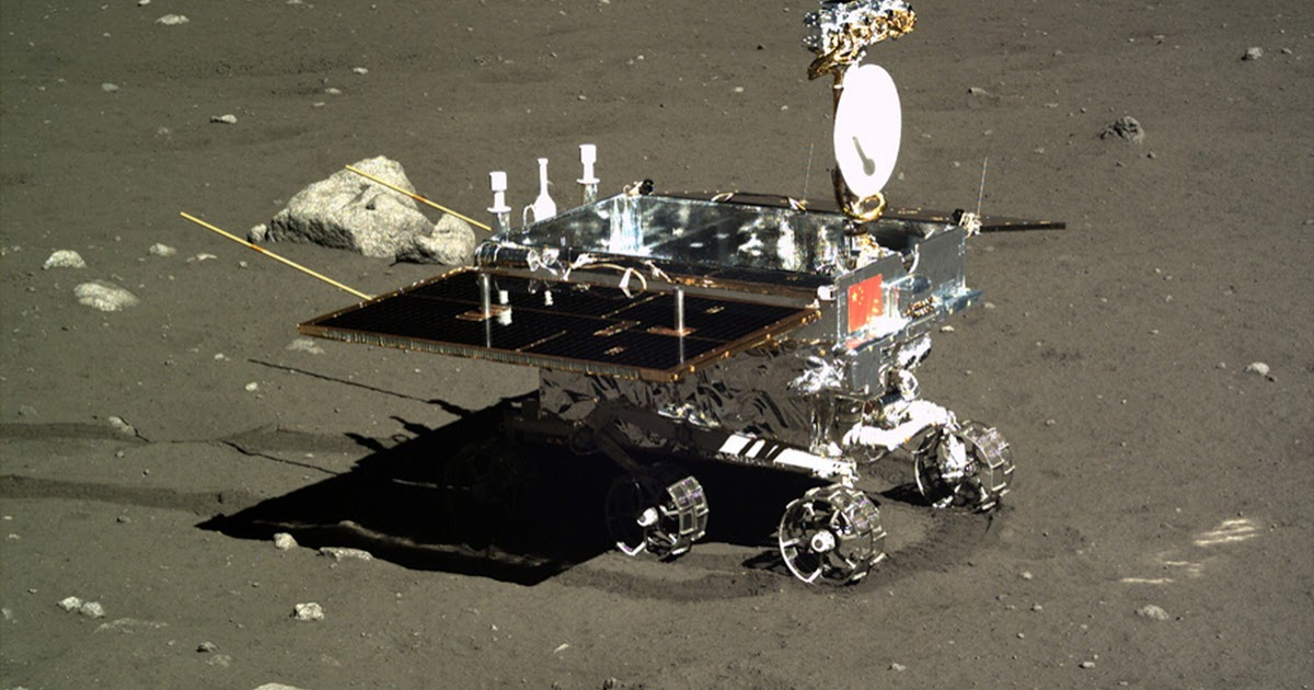 Chang'e-4 logró hacer crecer algodón en la Luna
