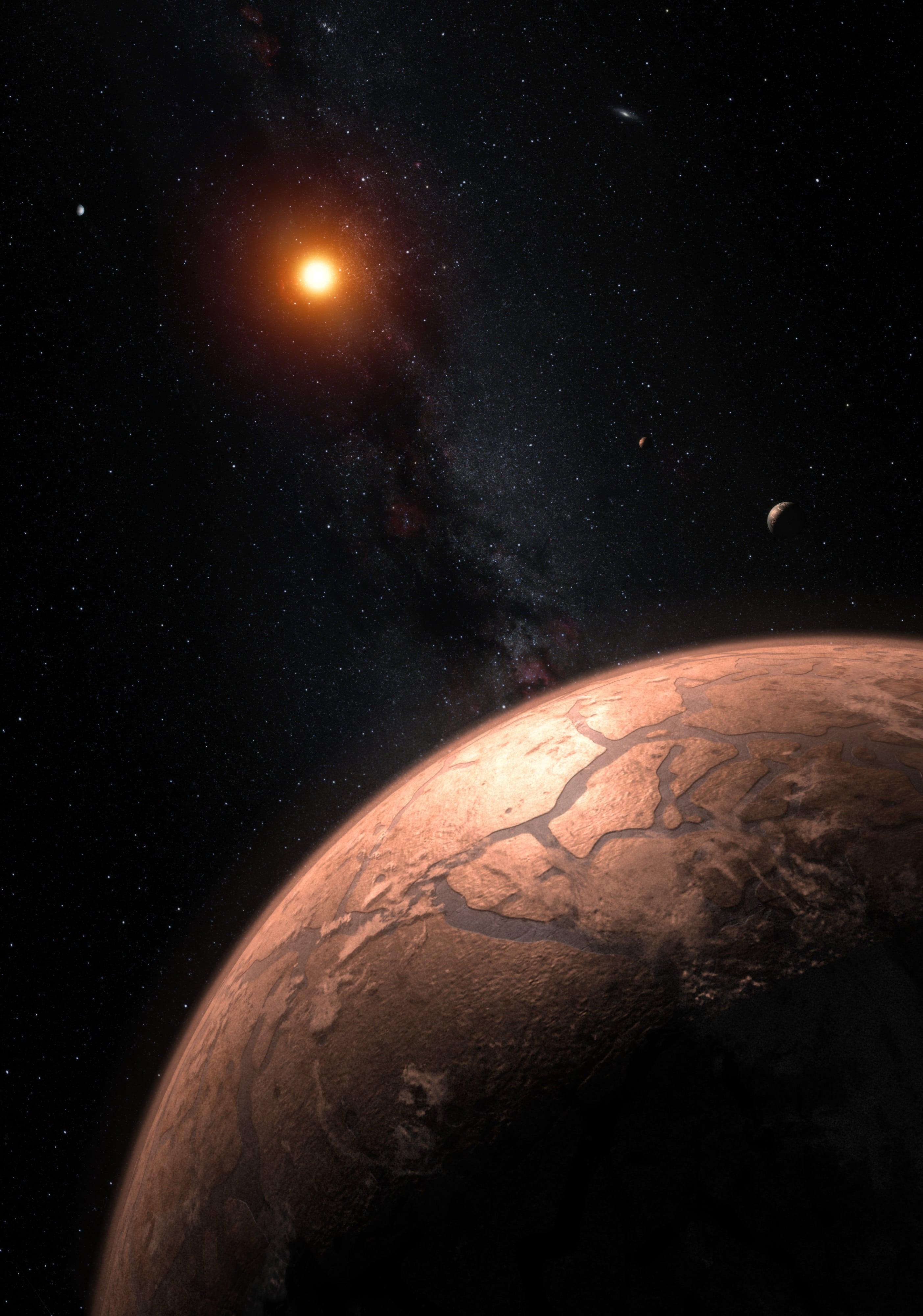 Los planetas rocosos de TRAPPIST-1 son muy similares