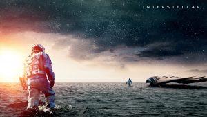 Póster promocional de Interstellar.
