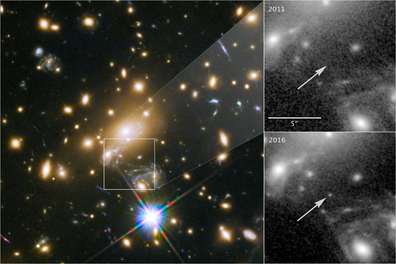 Ícaro, la estrella más distante observada