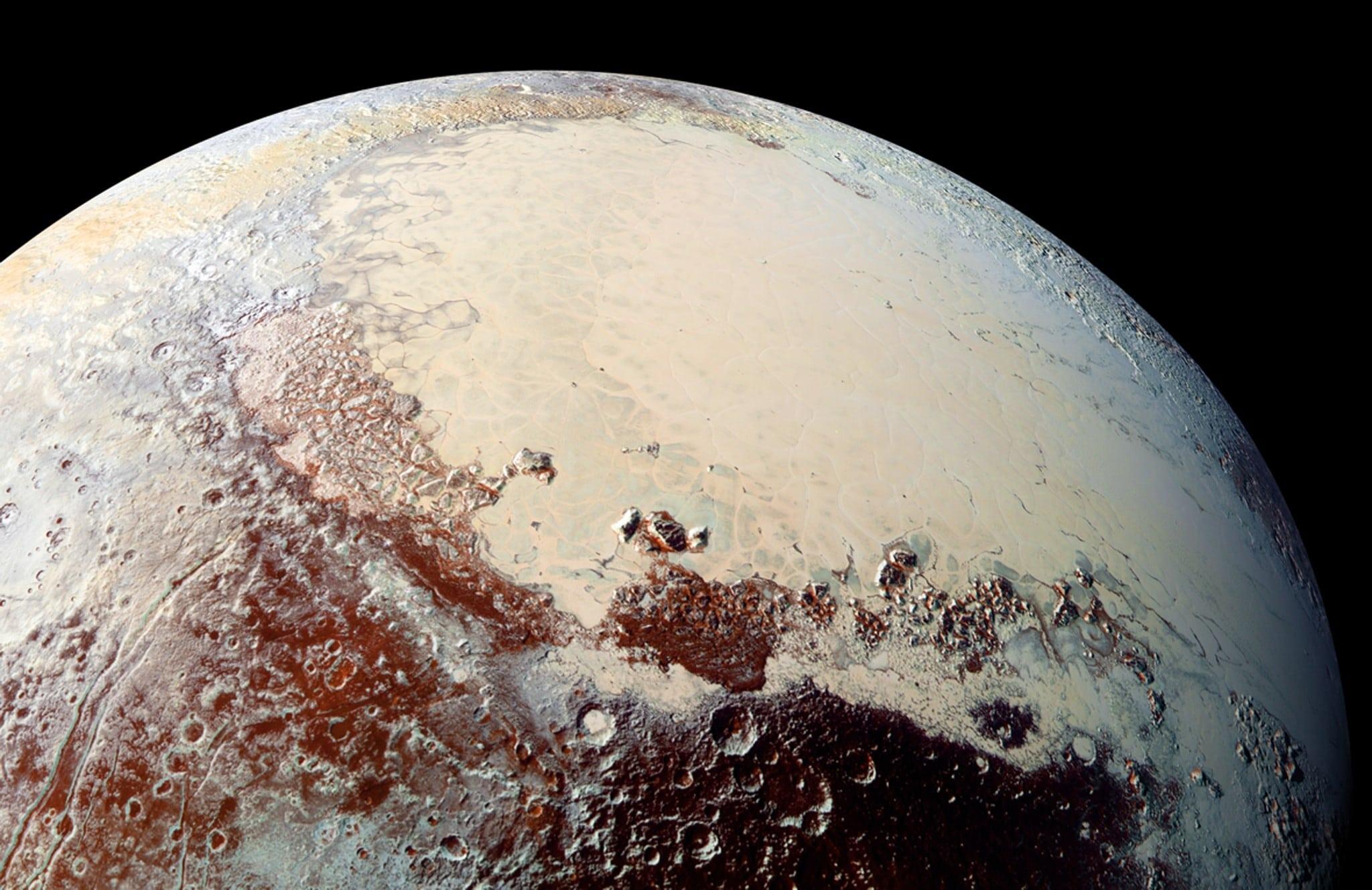 Plutón pudo formarse a partir de cometas