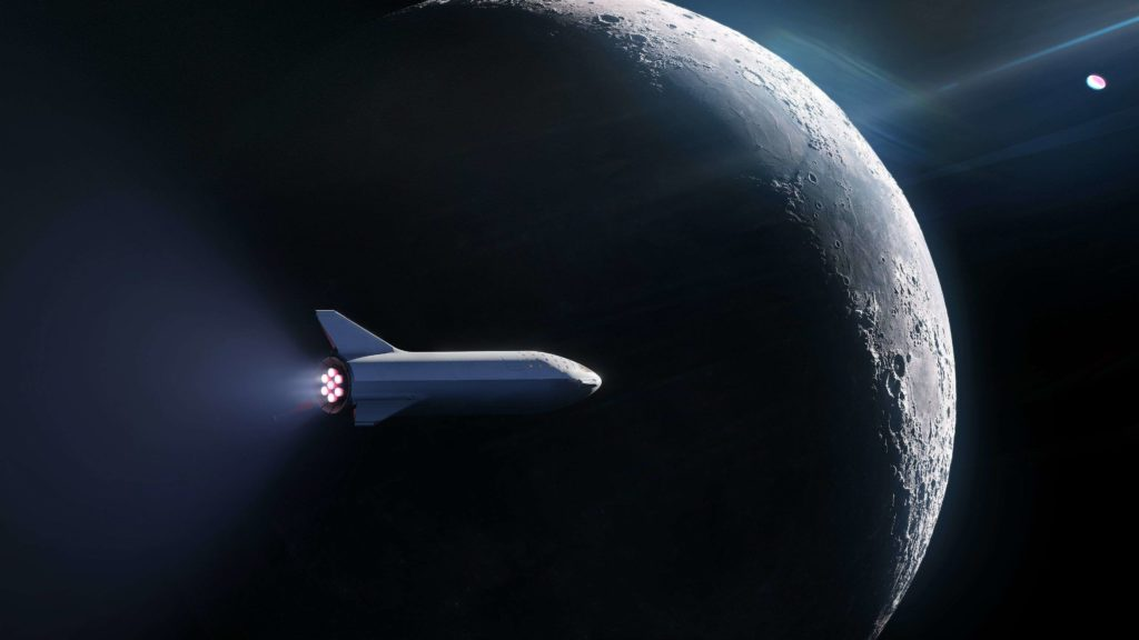 La NASA ha elegido a SpaceX para aterrizar en la Luna