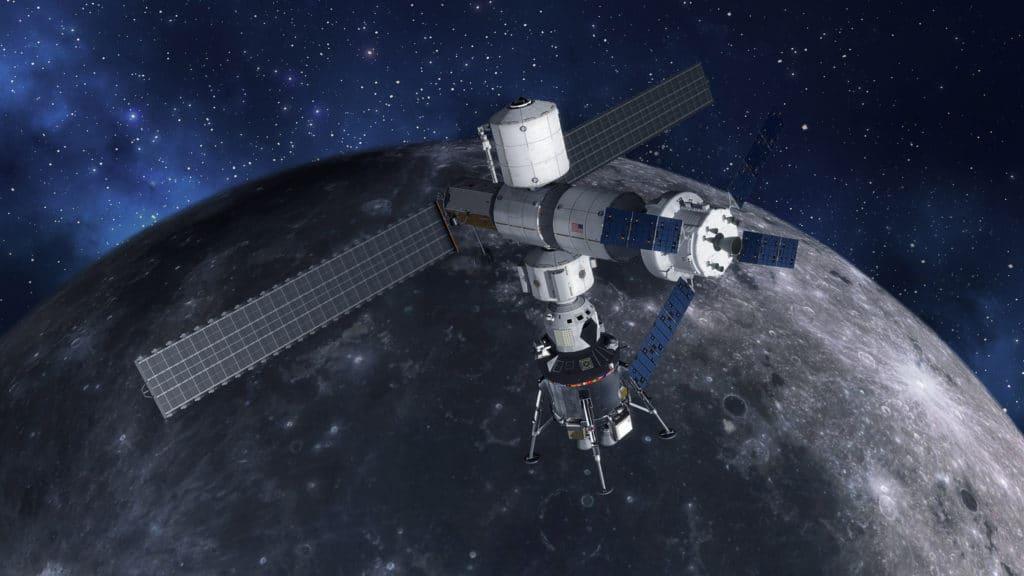 La estación Lunar Gateway prueba el motor que usará