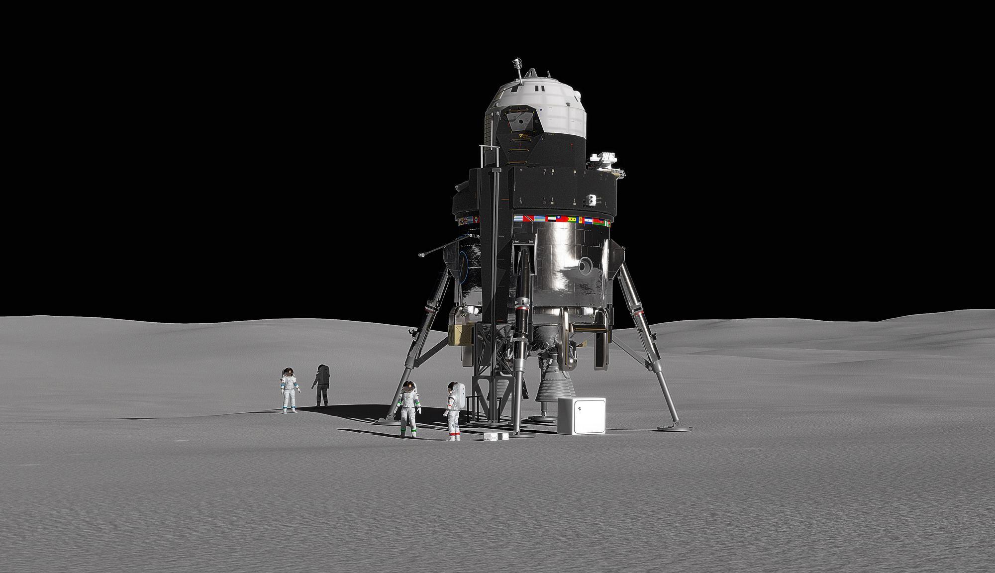 Lockheed Martin presenta su propuesta de módulo lunar