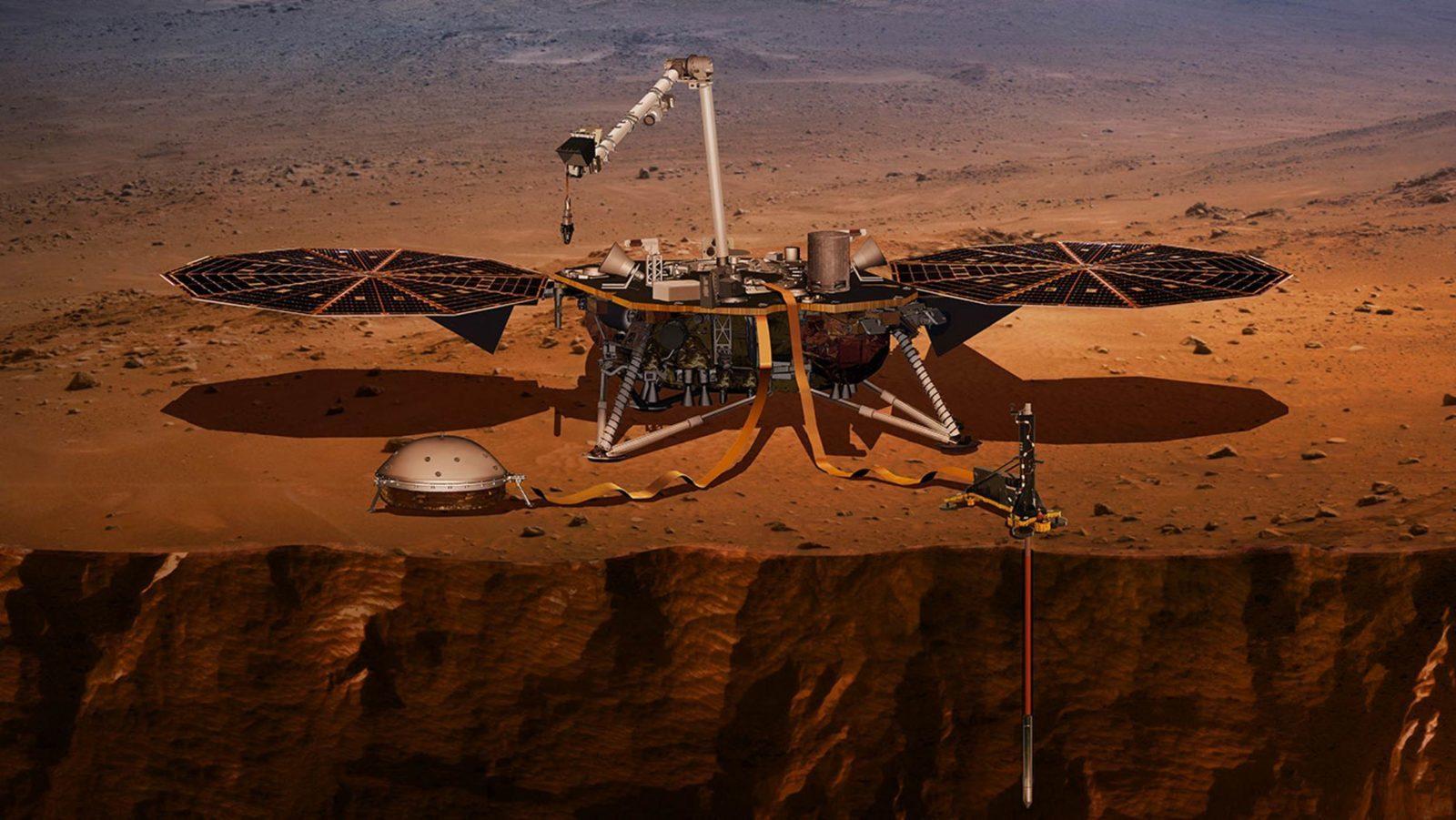 InSight muestra que Marte es geológicamente activo