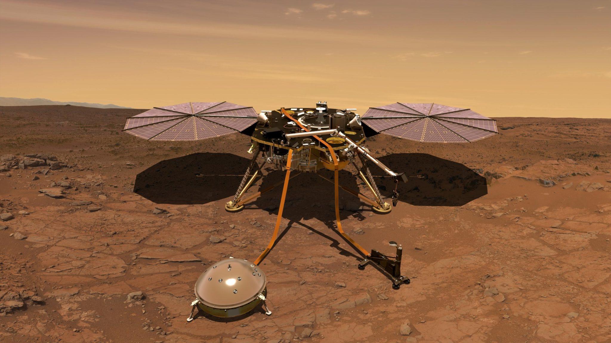 La sonda InSight detecta microterremotos en Marte